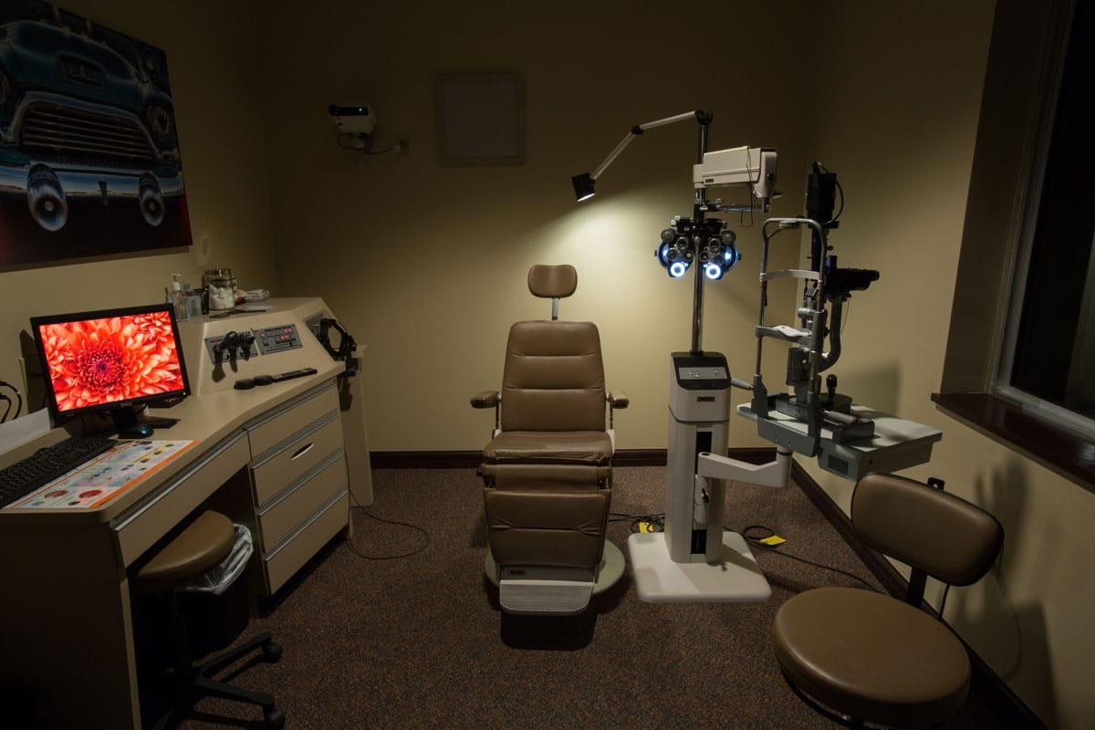 Exam Room 2 Davis Eye Center