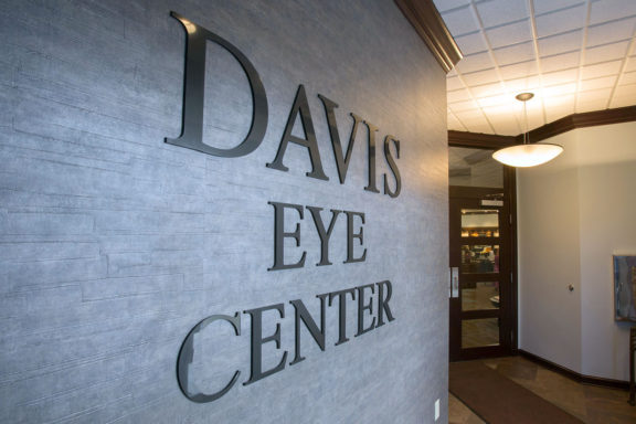Davis Eye Center office back to school eye exams kids eye exam near me